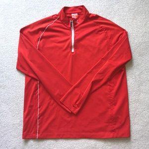 EUC lightweight Puma golf quarterzip pullover SzL